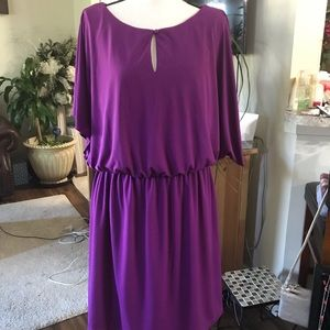 💕💕 eloquii  BY THE LIMITED Purple DRESS 14W 💕